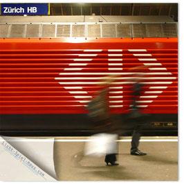 StadtSicht Zürich 054b, Zürich HB rote Lok 002