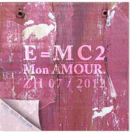 StadtSicht Zürich 031a, Relativitätstheorie Mon Amour 001