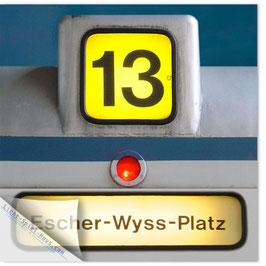 StadtSicht Zürich 083d, Tram Linie 13 001