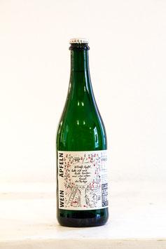 Wein aus Äpfeln – Apfelperlwein 2018 - Restsüss
