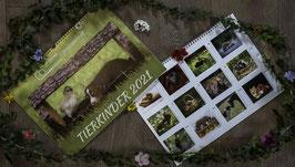 Kalender - TIERKINDER 2021