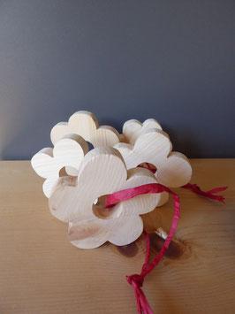 Blume aus Arvenholz