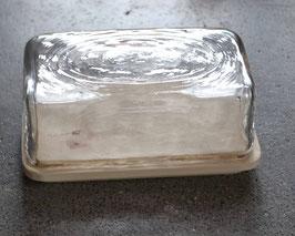 Burriera - Butter Oberteil von Glasi Hergiswil mit Engadiner Arvenbutterbrettli