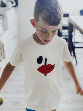 "Kindershirt ""love rules"" PI"