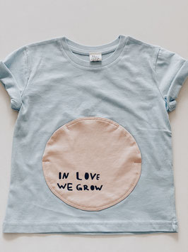 "Kindershirt ""inlovewegrow"" T"