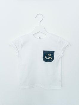 """Shirt """"I am happy"""""""