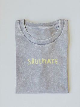 """Shirt """"SOULMATE"""" grau"""