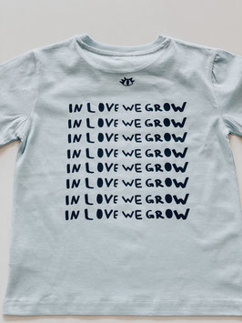 "Kindershirt ""inlovewegrow"""