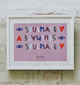 """A3 Poster """"SOULMATE"""""""