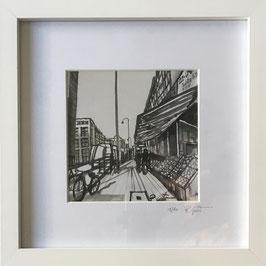 Venloer Straße schwarz/weiß