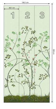 Finch - green