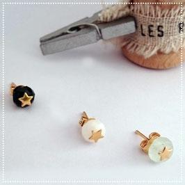 Boucles d'oreilles Mini Star Or