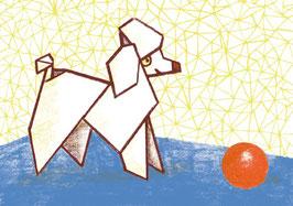 »Origami-Pudel«