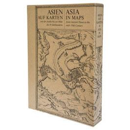 Asien auf Karten
