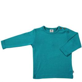 leela cotton langarmshirt lapis