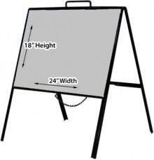 "18"" x 24"" Folding A-Frame"