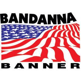 """Bandanna Banner - 46"""" X 72'"""