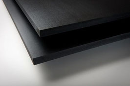 "6 MM - PVC- Black -  9"" X 18"" - Sheet"