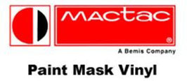 "MACtac MACmark CM8448 Gray Transparent Paint Mask Vinyl - 48"" X 164' Roll"