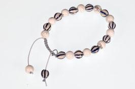 Delftsblauwe armband wit Turkoois DB-2055