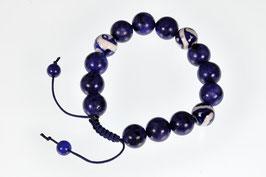 Delftsblauwe armband Lapis Lazuli DB-2053