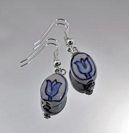 DB-3013 Delfts blauwe tulp ovaal