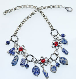 DB-1021 Collier siam rood