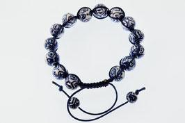 DB-2046 Shambala armband blauw