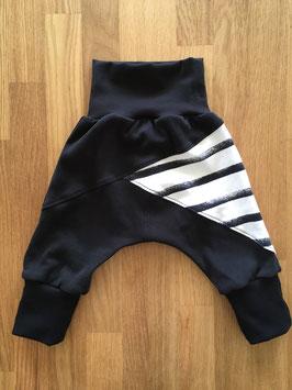 """Lazy Pants """"black stripes"""" - Grösse 68/74"""