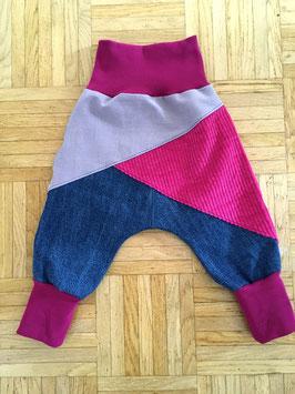 """Lazy Jeans """"purple pink"""" in Grösse 80/86"""