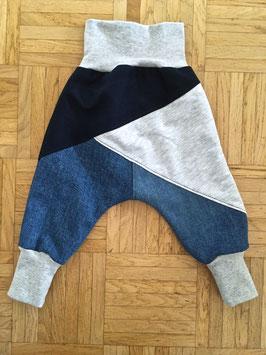 """Lazy Jeans """"cool ice"""" gefüttert in Grösse 80/86"""
