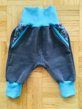 *Baby* Jeans Turquoise mosaic - auf Bestellung