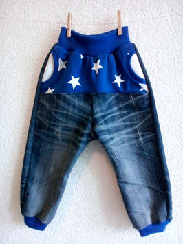 """BLUE"" Jeans CUSTOMIZED"