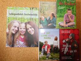 KNÜLLER-5er-SET: 5 Bücher über unseren Jonas bzw. zum Thema Down-Syndrom