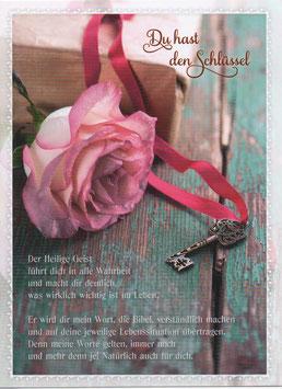 Rose & Schlüssel - Heiliger Geist