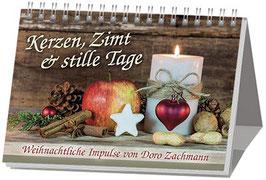 Aufstellbuch: Kerzen, Zimt und stille Tage, neu