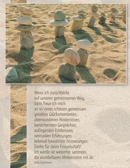 Große Postkarten im 5er Set  ALTE FREUNDE, LANGJÄHRIGE GEFÄHRTEN