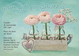 Geburtstags-Faltkarte: Genieße die kommenden 365 Tage!