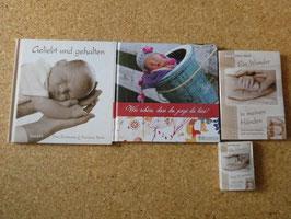 BABY-4er-SET: 2 Bildbände und 2 Faltbücher