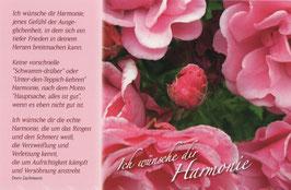 Ich wünsche dir Harmonie