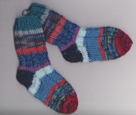 """Handgestrickte Kinder-Socken """"Kleine Meerjungfrau"""""""
