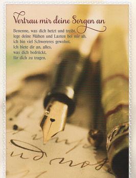 Füller - Vertrau mir deine Sorgen an