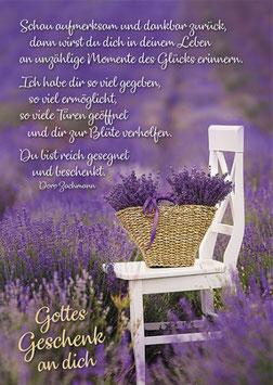 Faltkarte: Gottes Geschenk an dich
