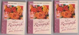 3 kleine Faltbücher Rosen