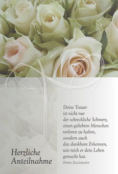 Faltkarte: Deine Trauer