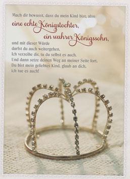 Krone - Echte Königstochter, wahrer Königssohn