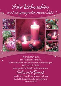 Postkarte Weihnachten naht