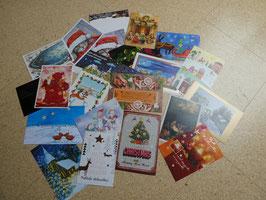 22 Postkarten WINTER / WEIHNACHTEN