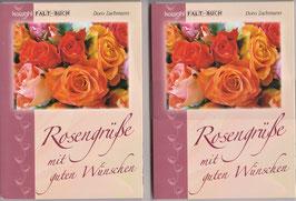 2 große Faltbücher Rosen
