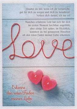 Love - Erkenne den roten Faden meiner Liebe